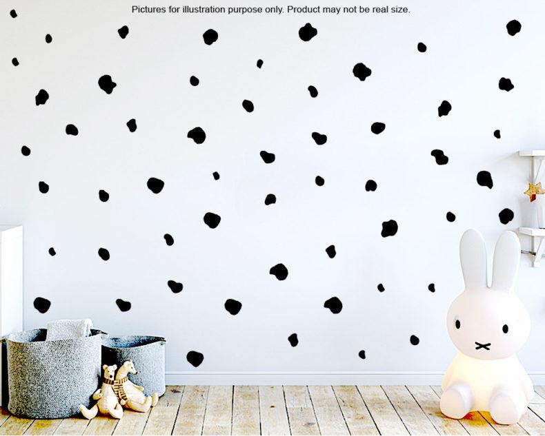 Dalmatian wall decals scandinavian style