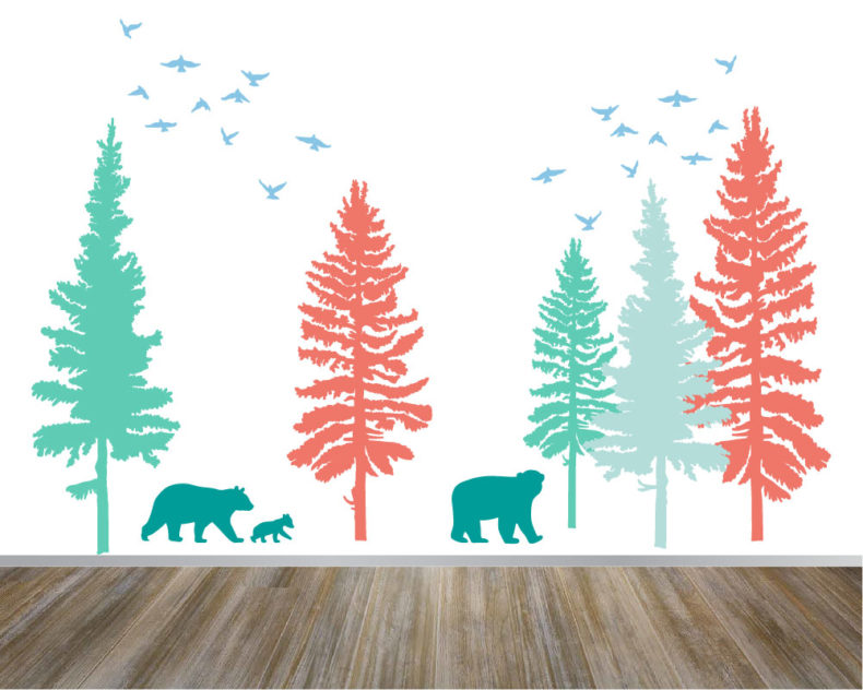 Forest Mural Wall Decal