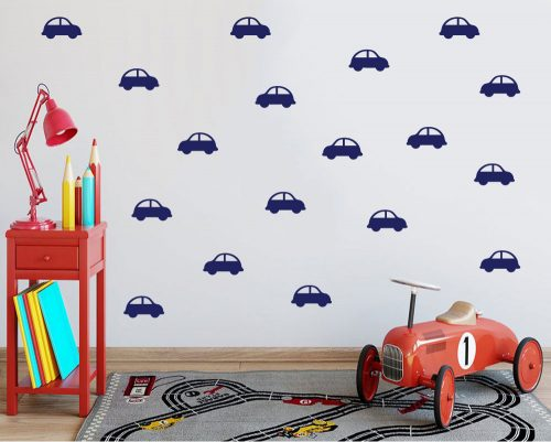 Car pattern wall stickers